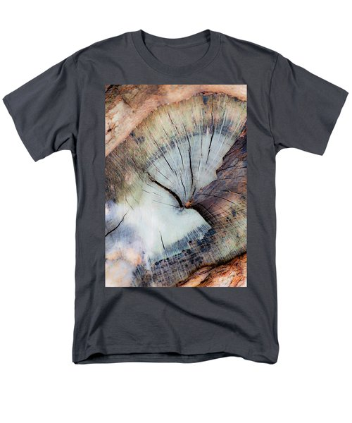 Men's T-Shirt  (Regular Fit) featuring the photograph The Cut by Stephen Anderson