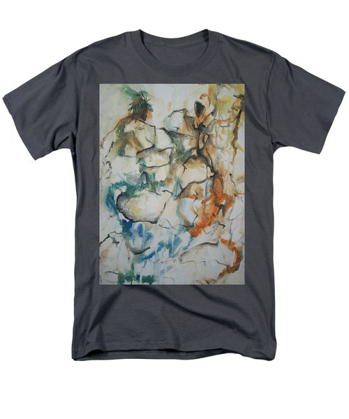 Men's T-Shirt  (Regular Fit) featuring the painting The Dance by Raymond Doward