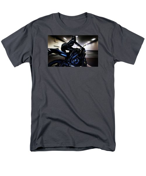 Men's T-Shirt  (Regular Fit) featuring the photograph The Dark Knight by Lawrence Christopher