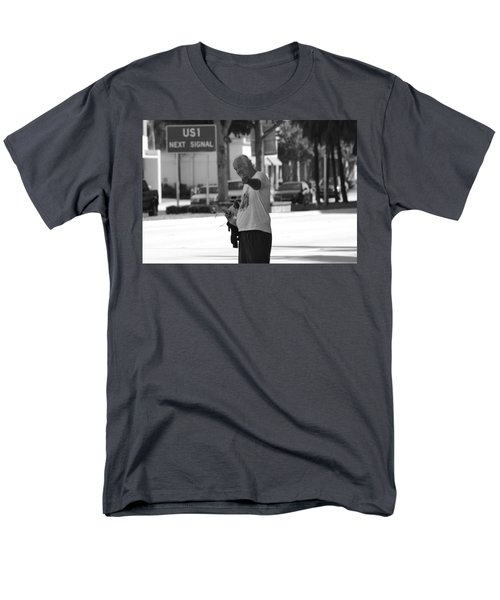Men's T-Shirt  (Regular Fit) featuring the photograph The Devil Man by Rob Hans