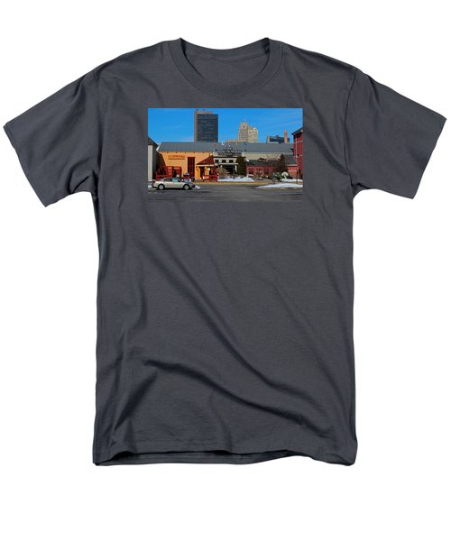 Men's T-Shirt  (Regular Fit) featuring the photograph The Docks by Michiale Schneider