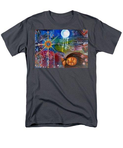 The Dreamer Men's T-Shirt  (Regular Fit) by Prerna Poojara