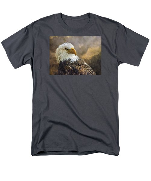 Men's T-Shirt  (Regular Fit) featuring the photograph The Eagle's Stare by Brian Tarr