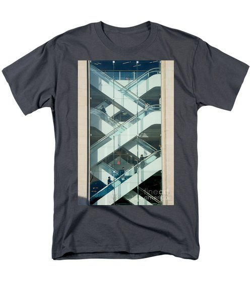 The Escalators Men's T-Shirt  (Regular Fit) by Colin Rayner