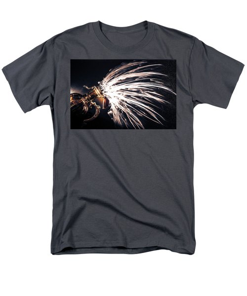 Men's T-Shirt  (Regular Fit) featuring the photograph The Exploding Growler by David Sutton