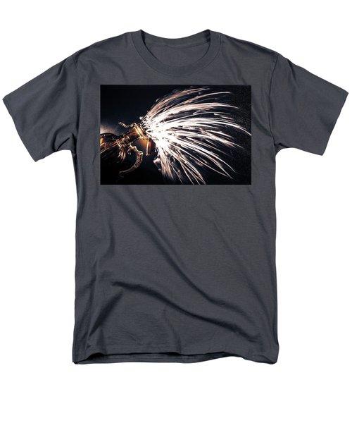 The Exploding Growler Men's T-Shirt  (Regular Fit) by David Sutton