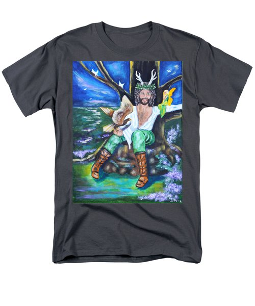 The Faery King Men's T-Shirt  (Regular Fit) by Diana Haronis