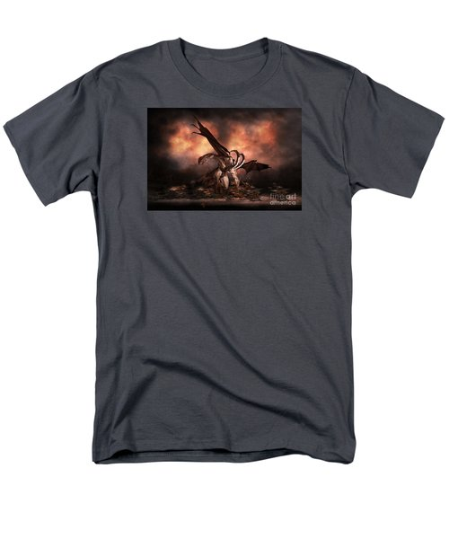 Men's T-Shirt  (Regular Fit) featuring the digital art The Fallen by Shanina Conway