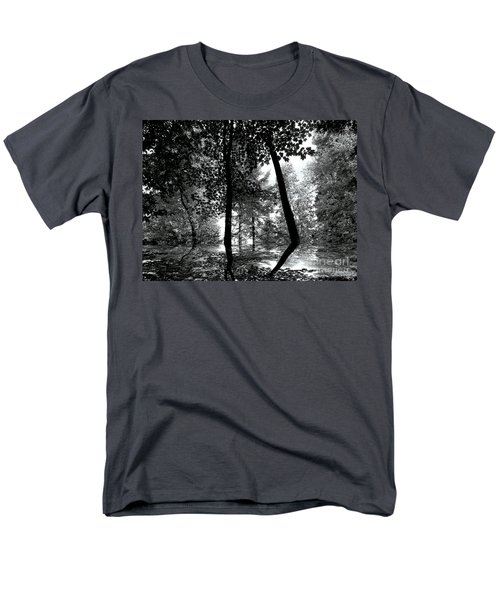 Men's T-Shirt  (Regular Fit) featuring the photograph The Forest by Elfriede Fulda