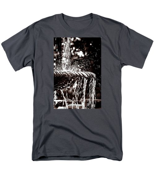 Men's T-Shirt  (Regular Fit) featuring the photograph The Fountain by Wade Brooks