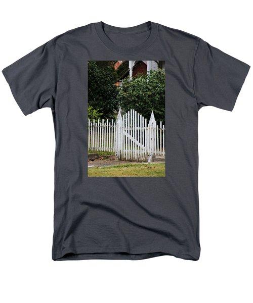 The Front Gate Men's T-Shirt  (Regular Fit) by Lynn Jordan