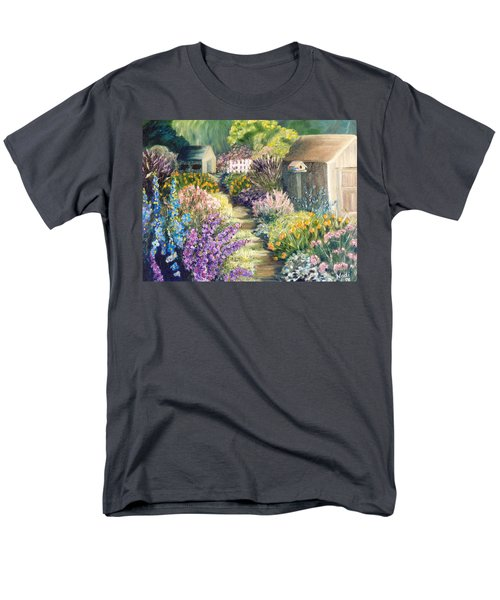 The Garden Path Men's T-Shirt  (Regular Fit) by Renate Nadi Wesley