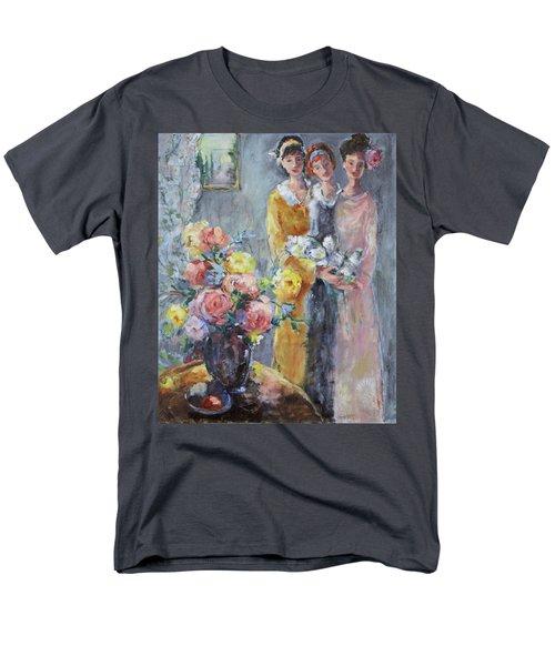 The Gathering Men's T-Shirt  (Regular Fit) by Sharon Furner