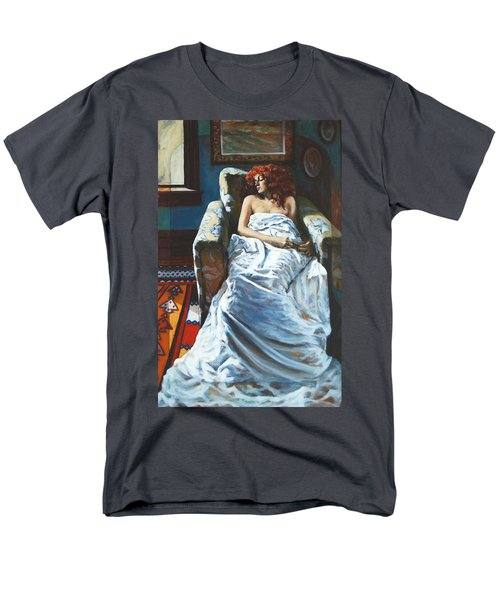 The Girl In The Chair Men's T-Shirt  (Regular Fit) by Rick Nederlof