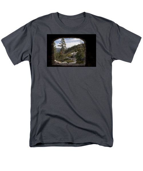 Men's T-Shirt  (Regular Fit) featuring the photograph The Great View Of Yosemite by Ivete Basso Photography