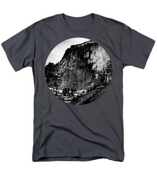 The Great Wall, Black And White Men's T-Shirt  (Regular Fit) by Adam Morsa