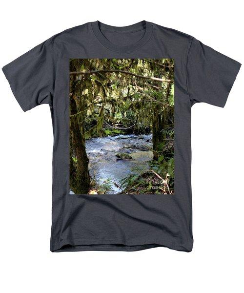 The Green Seen Men's T-Shirt  (Regular Fit) by Marie Neder