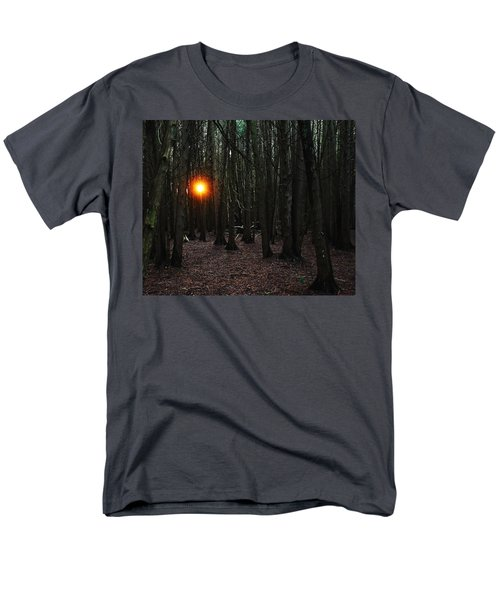 Men's T-Shirt  (Regular Fit) featuring the photograph The Guiding Light by Debbie Oppermann