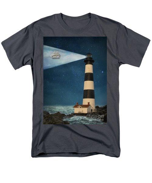 Men's T-Shirt  (Regular Fit) featuring the photograph The Guiding Light by Juli Scalzi