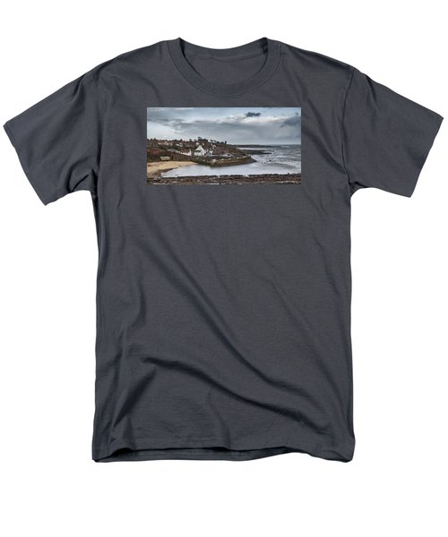 The Harbour Of Crail Men's T-Shirt  (Regular Fit) by Jeremy Lavender Photography