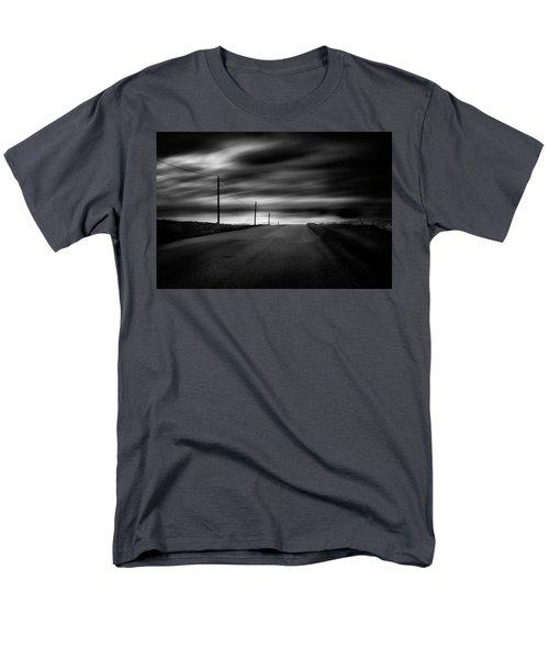 Men's T-Shirt  (Regular Fit) featuring the photograph The Highway by Dan Jurak