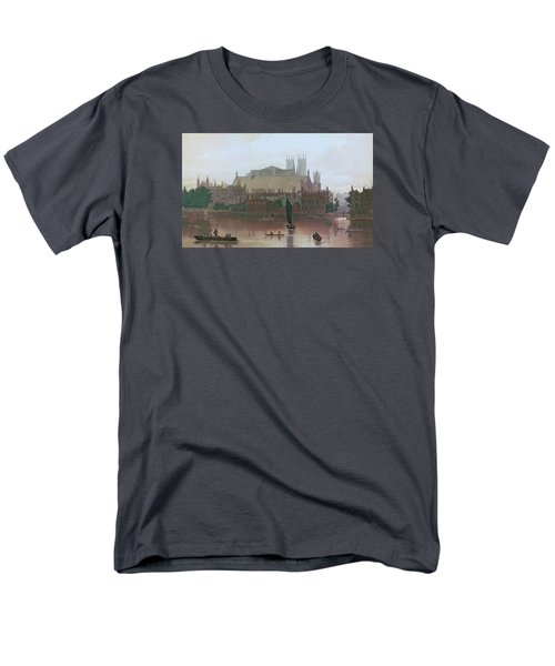 The Houses Of Parliament Men's T-Shirt  (Regular Fit) by George Fennel Robson