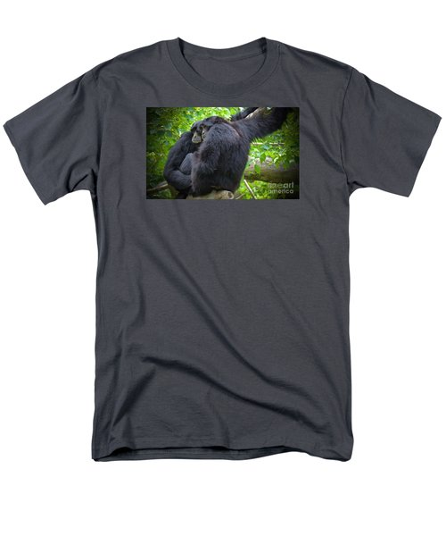 Men's T-Shirt  (Regular Fit) featuring the painting The Huddle by Judy Kay