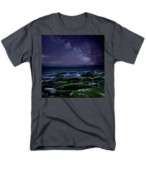 Men's T-Shirt  (Regular Fit) featuring the photograph The Immensity Of Time by Jorge Maia
