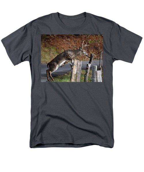 Men's T-Shirt  (Regular Fit) featuring the photograph The Jumper by Douglas Stucky