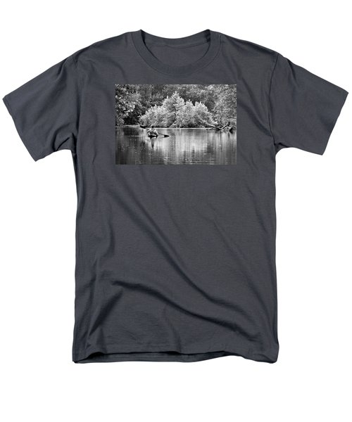 The Kayaker Men's T-Shirt  (Regular Fit) by Robert Charity