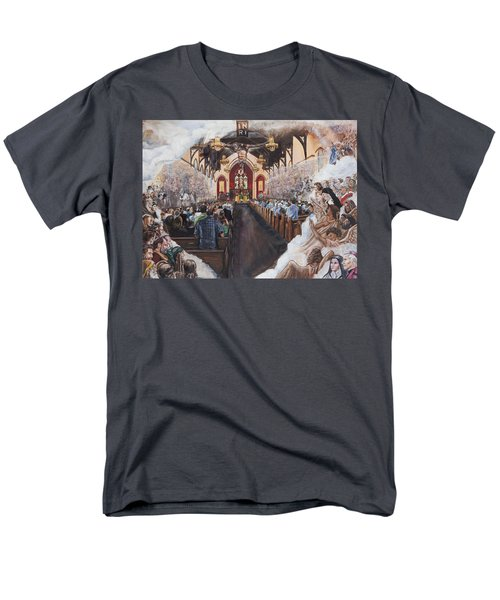 The Lamb's Supper Men's T-Shirt  (Regular Fit) by Bryan Bustard