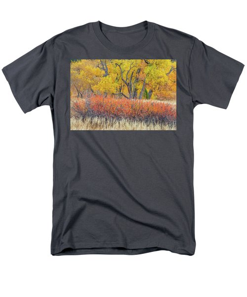 The Leaves That Will Become The Essential Component Of Soil Called Humus  Men's T-Shirt  (Regular Fit)