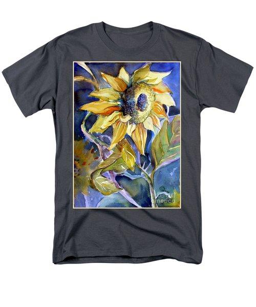 The Light Of Sunflowers Men's T-Shirt  (Regular Fit) by Mindy Newman