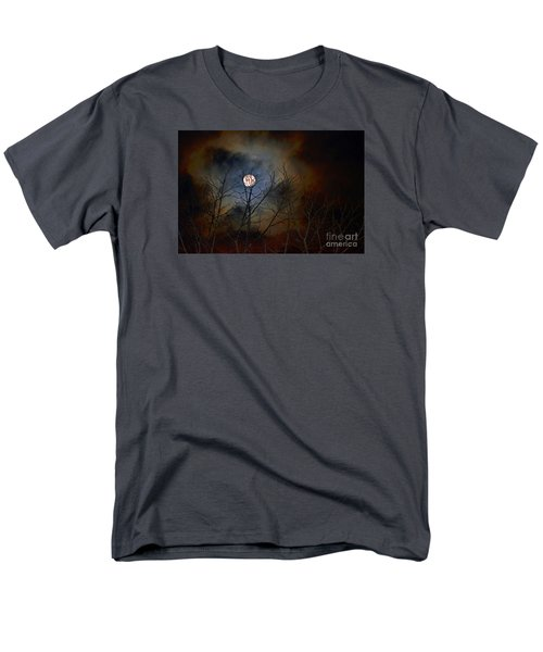Men's T-Shirt  (Regular Fit) featuring the photograph The Light Of The Moon by Lila Fisher-Wenzel