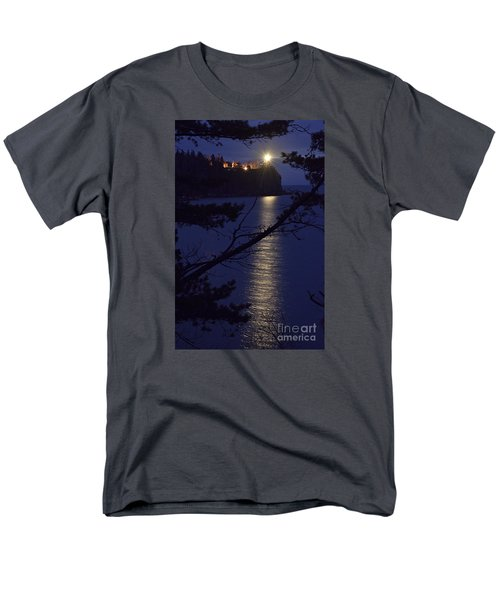 Men's T-Shirt  (Regular Fit) featuring the photograph The Light Shines Through by Larry Ricker