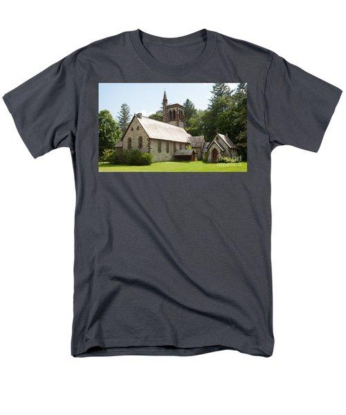 The Little Brown Church In The Vale Men's T-Shirt  (Regular Fit) by Carol Lynn Coronios