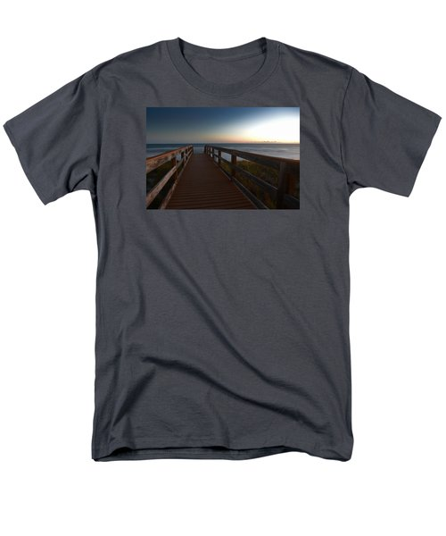 Men's T-Shirt  (Regular Fit) featuring the photograph The Long Walk Home by Renee Hardison