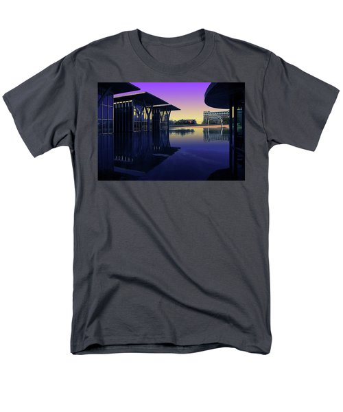 Men's T-Shirt  (Regular Fit) featuring the photograph The Modern, Fort Worth, Tx by Ricardo J Ruiz de Porras