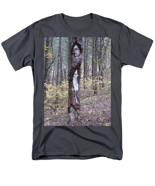 Men's T-Shirt  (Regular Fit) featuring the photograph The Mouse Ran Up The  by Marie Neder