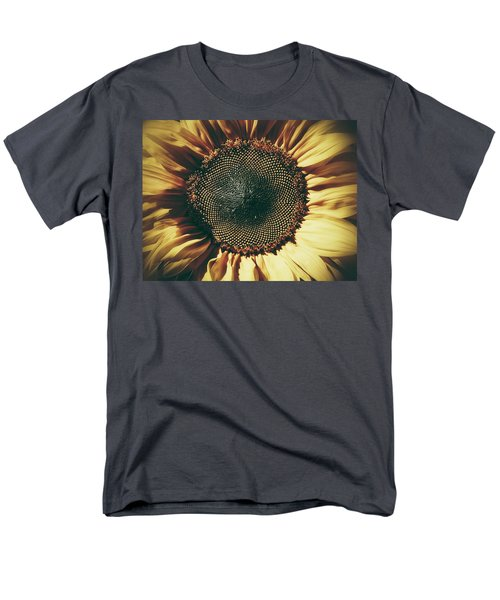 The Not So Sunny Sunflower Men's T-Shirt  (Regular Fit) by Karen Stahlros