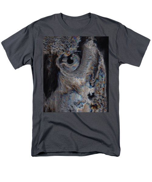 The Old Owl That Watches Men's T-Shirt  (Regular Fit) by ISAW Gallery
