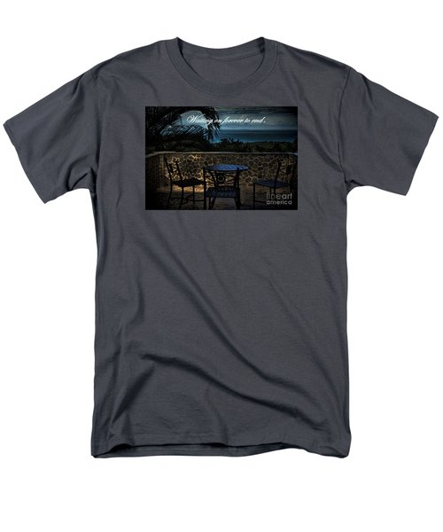 Men's T-Shirt  (Regular Fit) featuring the photograph Pain That Last Forever by Pamela Blizzard