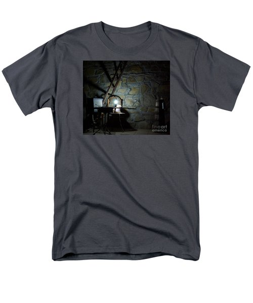 Men's T-Shirt  (Regular Fit) featuring the photograph The Perfect Place For Music by AmaS Art