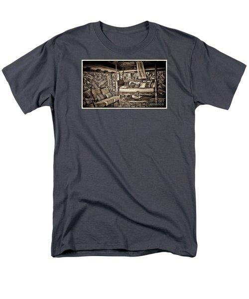 Men's T-Shirt  (Regular Fit) featuring the photograph The Retreat by Pamela Blizzard