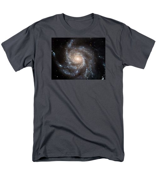 The Pinwheel Galaxy  Men's T-Shirt  (Regular Fit) by Hubble Space Telescope