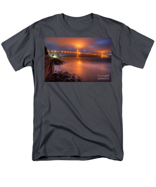Men's T-Shirt  (Regular Fit) featuring the photograph The Place Where Romance Starts by William Lee