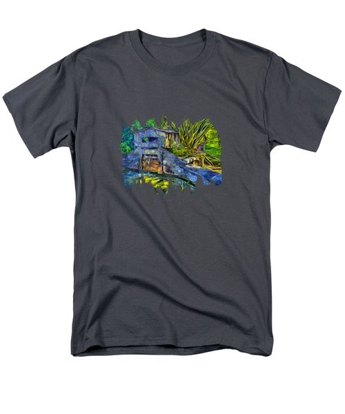 Men's T-Shirt  (Regular Fit) featuring the photograph Blakes Pond House by Thom Zehrfeld