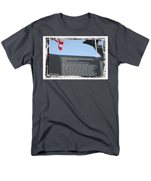 Men's T-Shirt  (Regular Fit) featuring the digital art The Price Of Freedom by Gary Baird