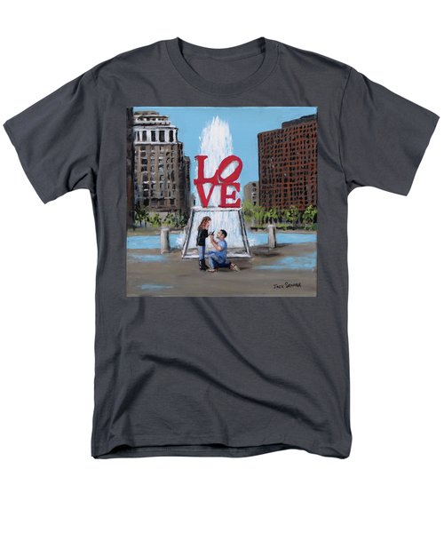 The Proposal Men's T-Shirt  (Regular Fit) by Jack Skinner
