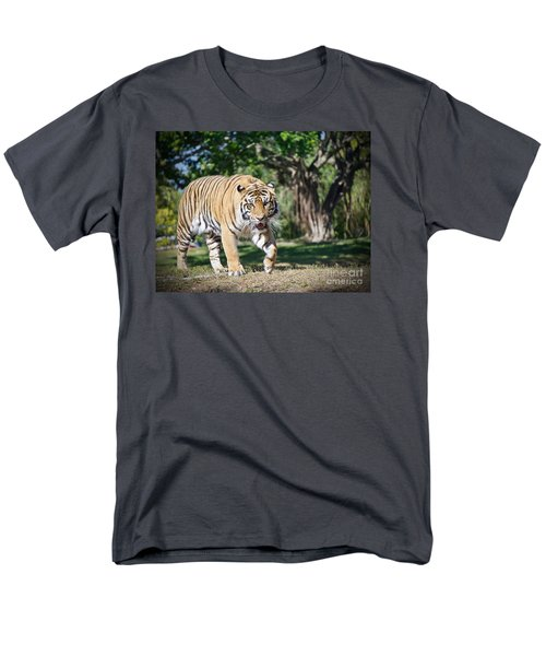 Men's T-Shirt  (Regular Fit) featuring the photograph The Prowler by Judy Kay